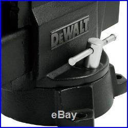 DEWALT 6 in. Heavy Duty Workshop Bench Vise with Swivel Base DXCMWSV6 New