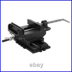 Drill Press Work Bench Vise Cross Slide OR Swivel Base Mechanics Workbench Tool