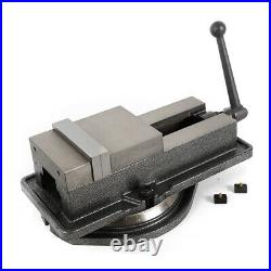 Durable Industrial Tool 5 Milling Machine Lockdown Vise-Swiveling Base Movable