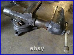 Duracraft Tool Co. 5 Bench Vise swivel base anvil pipe clamp