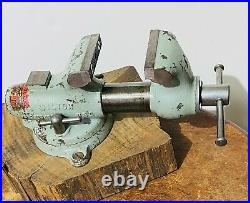 Early (7-52) Wilton 2 Baby Bullet Vise Swivel Base, Nice, Mint Condition (LOOK)
