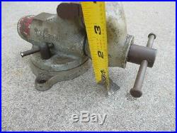 Early (Rare) Wilton 2 Baby Bullet Vise Swivel Base Vice