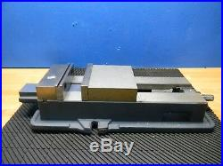 Gibraltar 6 Jaw Width x 8-3/4 Opening Machine Vise with Swivel Base