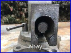 Heavy Duty Reed 403 1/2 R Machinist Bench Vise 3 1/2 Jaws Swivel Base And Jaw