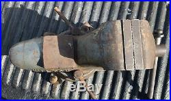 Heavy Duty Wilton Bullet Vise Swivel Base 3 1/2 Jaw 16 1/2 Long Nice
