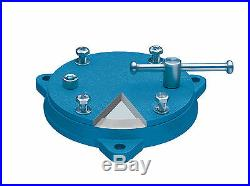 Heuer Bench Vise Rotary Rotating Swivel Base Mount Heck Industries Woodward Fab