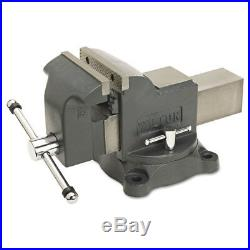 Jet 63302 WS6 Heavy Duty 30,000 PSI 6 in. Jaw Shop Vise with Swivel Base New