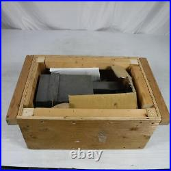 KURT ANGLOCK 6 MODEL D60 PRECISION MACHINE VISE With SWIVEL BASE AND HANDLE
