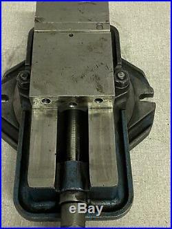 KURT D40 MILLING MACHINE VISE With Swivel Base + HANDLE 4 Jaws