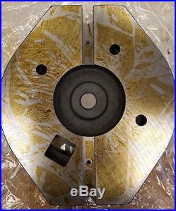 Kurt AngLock Vise Style Swivel Base 7.5 C-C with + Slot Nuts 1.25 Pin #1-M0010