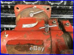 LARIN 5 Heavy Duty Bench Vice Swivel Base & Jaw(NOT MADE LIKE THIS ANYMORE)