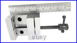 LATHE VERTICAL MILLING SLIDE SWIVEL BASE 4 x 5 WITH GRINDING VICE 88MM