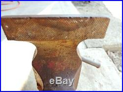 Large Parker Vise # 974- 1/2 Weighs 76 Lbs swivel base 4.5 jaws