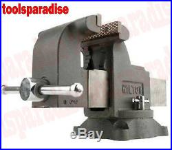 Large Wilton 6 Benchtop Spinning Swivel Base Vise Anvil Bench Pipe Clamp Vice