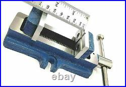 Lathe Vertical Milling Slide Swivel Base 4 X 5 & Vise 2 Self Centering Vice