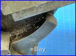 Machine Vise Adjustable Tilting Swivel Base 5 Jaws Universal Tilt 2-way Angle