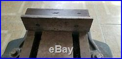 Mill Vise with Rotating / Swivel Base For Bridgeport or other Milling Machine