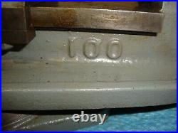 Milling Machine Vise Swivel Base 4 Inch Used