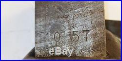NICE VINTAGE RARE CRAFTSMAN 5196 SWIVEL BASE BENCH VISE 4 JAWS MASSIVE 60lbs