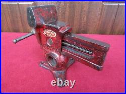 NICE Vintage Columbian Gyro-Vise No 73-1/2 Gunsmith Versa-Vise Swivel Multi Base