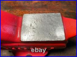 NICE Vintage Craftsman Bench Vise 5 Jaws Pipe Jaws Swivel Base Anvil 506.51810