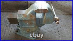NOS LS STARRETT CO Athol 923 Swivel Base Machinist Bench Vise WOW