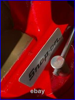 NOS Snap-On 6 Wide Jaws Mechanics Bench Vise Swivel Base 1760 Wilton USA
