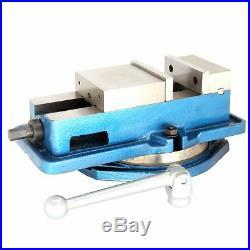 New 6 Milling Machine Lockdown Vise -Swiveling Base Hardened Metal CNC Vise