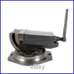 New Precision Milling Vise 5 Tilting Vise Swivel Base Angle Tilting 2 Way HOT