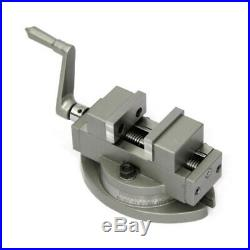 New Precision Vice Self Centering Vise with Swivel Base 2/50mm Adjustable 360°