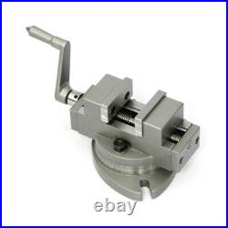 New Precision Vice Self Centering Vise with Swivel Base 3 / 75mm Complete 360°
