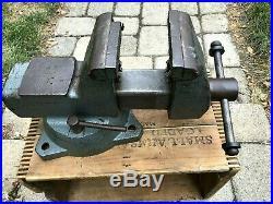 Nice Vintage Wilton Mechanics Bench Vise / 4 Inch Jaws / Swivel Base / USA