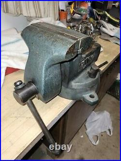 Nice Wilton 746 Combination Vise 6''jaws, With Swivel Base & Pipe Grips