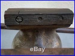 Original Vintage Wilton No. 4 Bullet Swivel Base Vise 36 Pounds 4 Inch Jaws