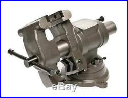 PALMGREN MJ50 5 Standard Duty Multi-Jaw Rotating Vise with Swivel Base