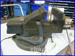 PARAMO #5 5 inch Vise with Swivel Base Made in England