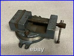 Palmgren 4-1/2 Inch Milling Machine Vise With Swivel Base 425b