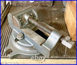 Palmgren 4 Drill Press Vise With Swivel Base Machinist Milling Machine Tool