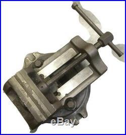 Palmgren 6 Drill Press / Milling Machine Vise With Swivel Base 610B Machinist