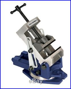 Palmgren 9611405 Industrial Style Angle Vise Withswivel Base, 4 In