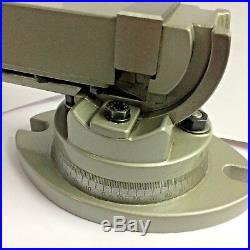 Precision Milling Vise Swivel Base & Angle Tilting 2 way-Jaw 2 Inches (50 mm)