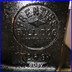 Prentiss Bull Dog No. 263/522 Bench Vise 3 Jaws Swivel Base Good Condition