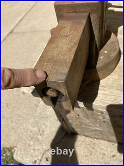 Prentiss Bulldog No 92 Swivel Base 4 Jaw Machinist Fabricator Bench Vise