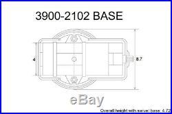 Pro-series Angle-tight Positive-lock 4 Milling Vise & Swivel Base (3900-2102)