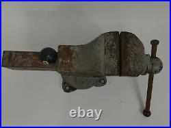 RARE Chas. Parker 259X Machinist Vise with Swivel Base USA Made 1910