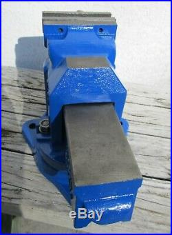 RECORD 3VS Swivel Base Bench 4 Vise Sheffield England 36 lbs 100 mm 25L3
