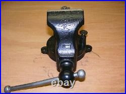 Rare PRENTISS 47 Swivel JawithBase Vise, 4.25 Jaw, opens 7, Vintage Early 1900's