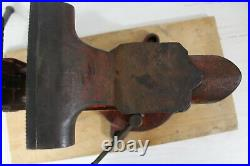 Rare! Vintage Columbian D45-m3, 5 Swivel Base Bench Vise Made In USA Cleveland
