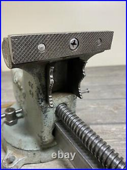Rare Vintage Wilton Vise 4 Torco Branded Wards With Swivel Base All Original