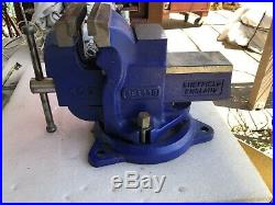 Record SQ5 Quick Release Vice Vise 5 Swivel Base Sheffield England NOS